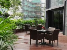 Western Restaurant Garden
